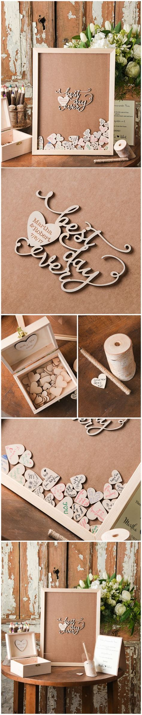 1000  ideas about Rustic Guest Books on Pinterest