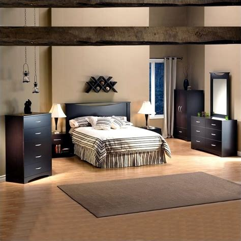 monaco platform bed bedroom set chocolate queen bedroom sets south shore back bay platform bed in dark chocolate 315923x