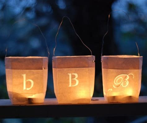 How To Make Paper Bag Lanterns - diy project paper bag lanterns design sponge