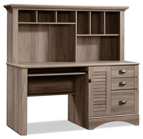 harbor view salt oak desk harbor view desk with hutch salt oak the brick
