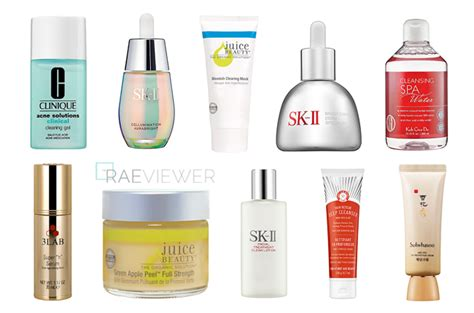 Top 10 Products For Skin by The Raeviewer A About Luxury And High End Cosmetics