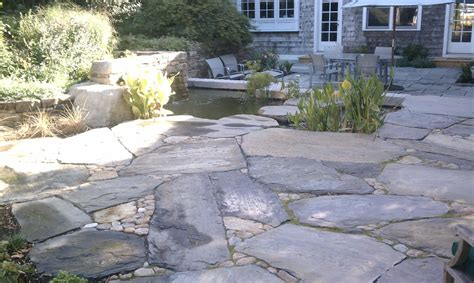 How To Install A Flagstone Patio by Patios And Pathways