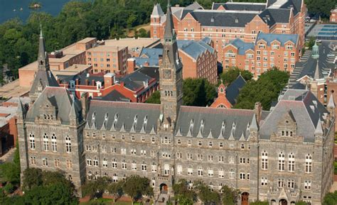 Mba Georgetown Academic Calendar by Georgetown Expands Scope Of Socially Responsible Investing