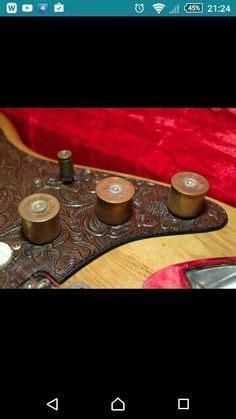 guitar knobs guitars shotgun shells