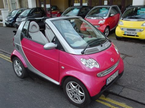 pink smart car pink smart car sooo cutee