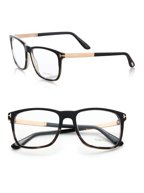 tom ford square optical frames in black lyst