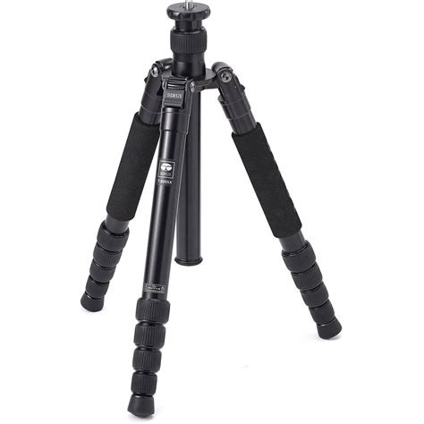 sirui t 1005x 5 section aluminum tripod sirui t 2005x 5 section aluminum tripod bsrt2005 b h photo