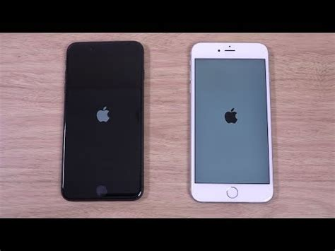 iphone 8 plus vs iphone 6s plus ios 11 speed test
