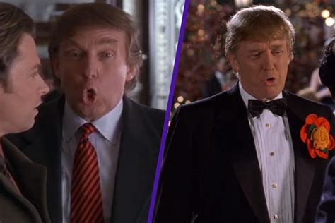 donald trump cameo here s a supercut of donald trump s most painful movie