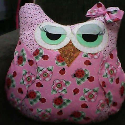 Patchwork Owls - fernanda miller patchwork almofada de coruja ou porta