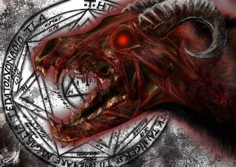 hellhound by arkarti on deviantart