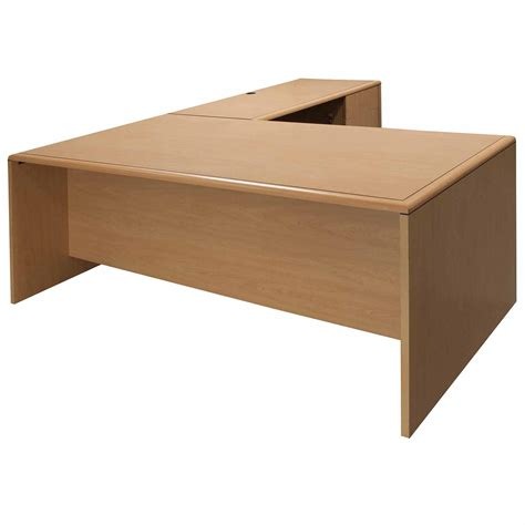 Kimball Reception Desk Kimball Used L Shape Right Return Laminate 36x72 Desk Maple National Office Interiors And