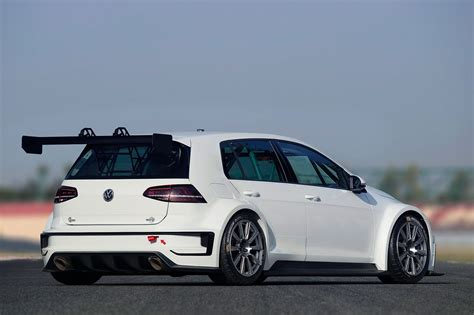 Volkswagen Car vw dabbles in touring cars with new 2015 golf racer by car