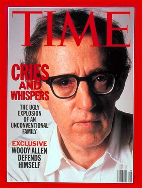 Allen In Magazine by Time Magazine U S Edition August 31 1992 Vol 140