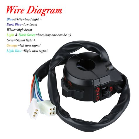 motorcycle turn signal switch wiring diagram efcaviation