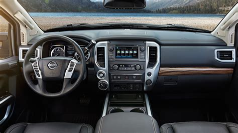 Interior 2018 Nissan Titan By Topeka Ks Marshall