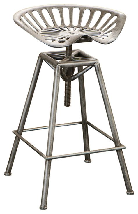 industrial design bar stools charlie metal tractor seat bar stool industrial bar