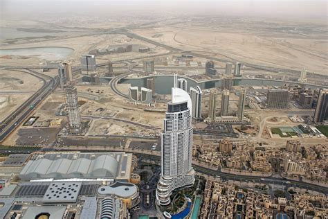 burj khalifa observation deck view from the observation deck burj khalifa dubai flickr