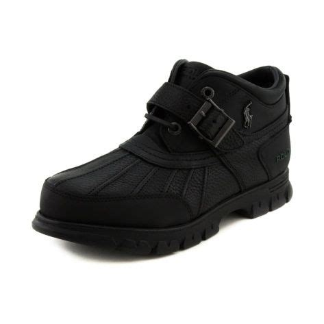 shop for mens dover 3 boot by polo ralph in black
