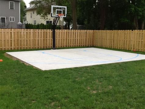 backyard basketball hoop 25 best backyard basketball court
