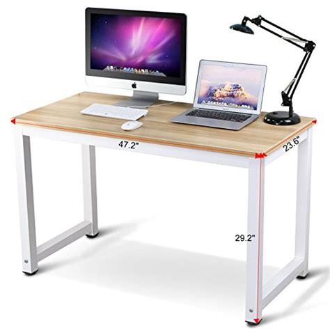 Modern Simple Desk 41 Tribesigns Modern Simple Style Computer Desk Pc Laptop Study Table Workstation For Home