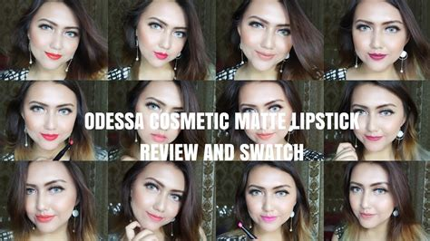 Lipstik Odessa review odessa cosmetics matte lipstick local madness