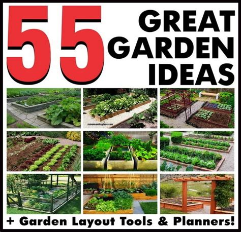 Garden Layouts Ideas 55 Great Garden Layout Ideas Backyard Gardens Removeandreplace