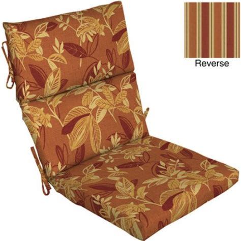 Dining Room Chair Cushions Pattern Pattern Dining Chair Outdoor Cushion Marlin Pumpkin Spice