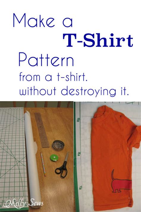 pattern to make t shirt basic t shirt pattern melly sews