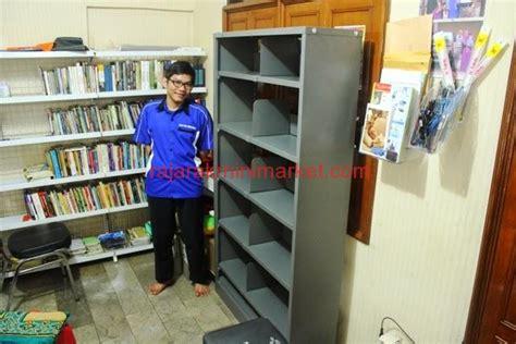 Jual Rak Display Buku jual rak perpustakaan besi merk taft
