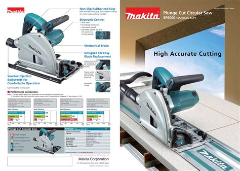 Gergaji Cut jual makita sp 6000 sp6000 mesin gergaji circular saw
