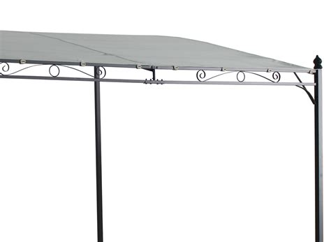 wand pavillon metall metal wall gazebo awning canopy pergola shade marquee