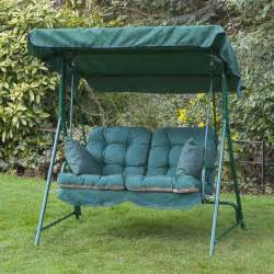 Patio Swing Replacement Cushions Alfresia Luxury Garden Swing Seat Cushions 2 Seater Ebay