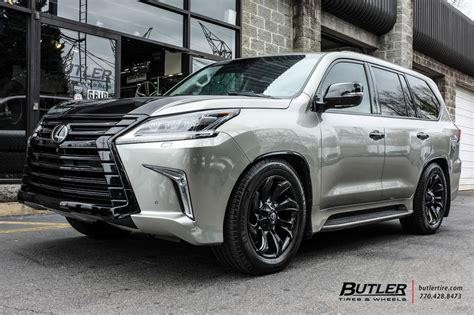 lexus lx   fuel stryker wheels exclusively  butler tires  wheels  atlanta ga