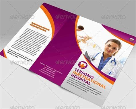 design leaflet kesehatan brosur medis kesehatan klinik dan rumah sakit brochure