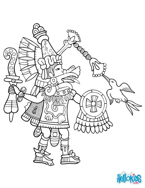 quetzalcoatl coloring page quetzalcoatl coloring pages hellokids com