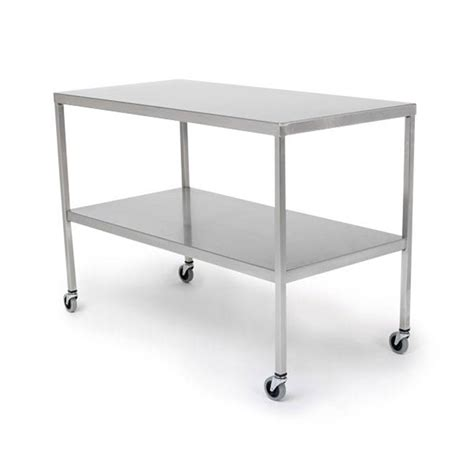 Stainless Steel Lab Tables by Stainless Steel Instrument Tables Marketlab Inc