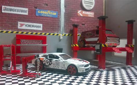 1 64 Scale Garage Diorama by Diorama Garage Skala 1 64 64plusworkshop
