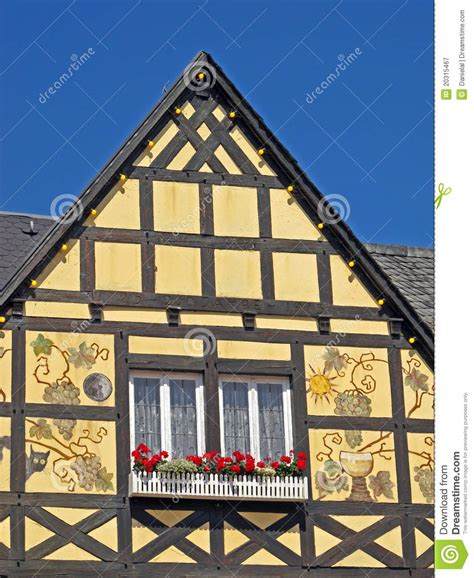 House Plans European traditional german house royalty free stock photography