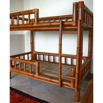 Bamboo Bunk Beds Bamboo Bunk Bed Bed Pinterest