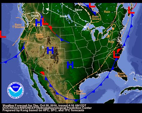 us weather map archive your hometown weather october 2010