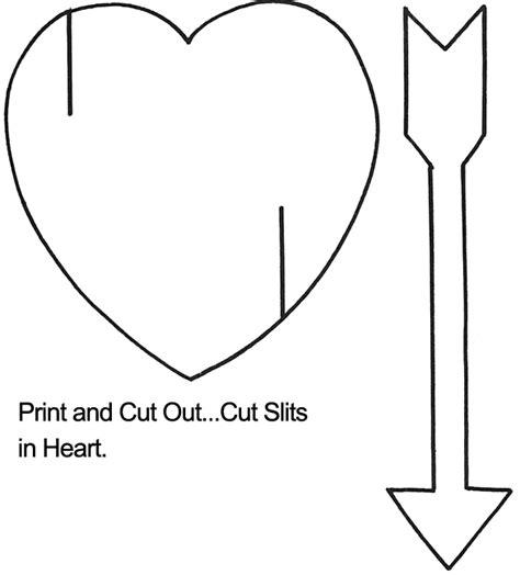 arrow template with arrow template crafts