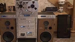 Vintage Audio Rack Pioneer Vintage Stereo System Rack