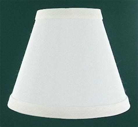 Replacement Chandelier L Shades by Eggshell Mini Chandelier L Shade Clip On Light