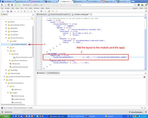layout zf2 software engineering create a layout for zf2 application