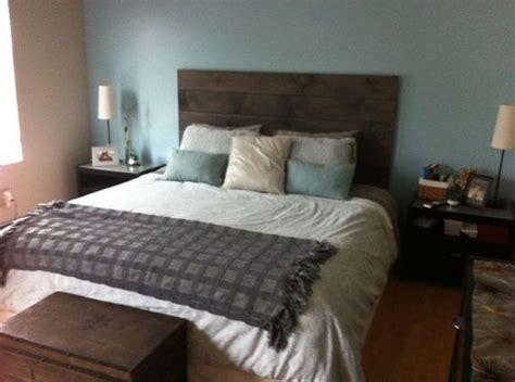 wall mounted wooden headboards wood headboard headboards and rustic on pinterest