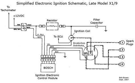 bosch electronic ignition wiring diagram wiring diagrams