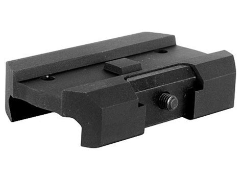Micro Aimpoint T1 Low Black aimpoint micro t 1 t 2 h 1 mount kit mpn 12436