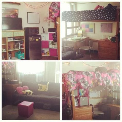 college dorm couch university of iowa burge hall really cute coordinated