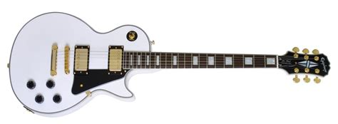 my new epiphone les paul custom alpine white mylespaul epiphone les paul custom pro epiphone guitars gak